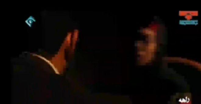 بخشی از فیلمی که شبکه یک ایران شنبه از اعترافات تلویزیونی رقصندههای بازداشت شده منتشر کرد