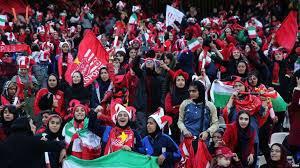 حضور زنان در استادیوم آزادی برای تماشای بازی پرسپولیس و کاشیمای ژاپن