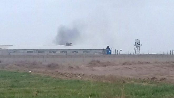 گزارش شده که در زندان قرچک آتش سوزی هم رخ داد