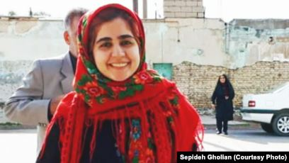 سپیده قلیان، زندانی سیاسی