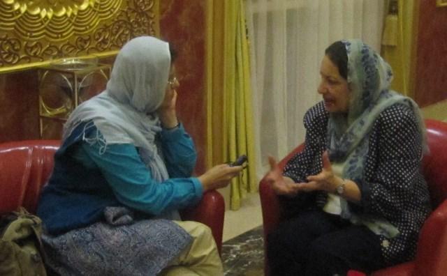 مصاحبه ژیلا بنی یعقوب با نسرین گروس در کتاب فرمانده مسعود