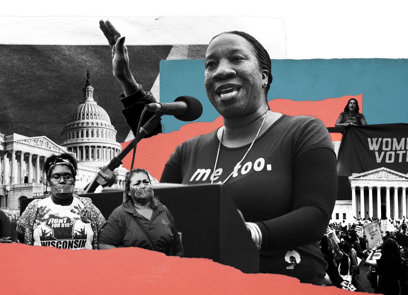 زنی که #من-هم را ۱۰ سال پیش ساخت، از قدرت آن باخبر بود
