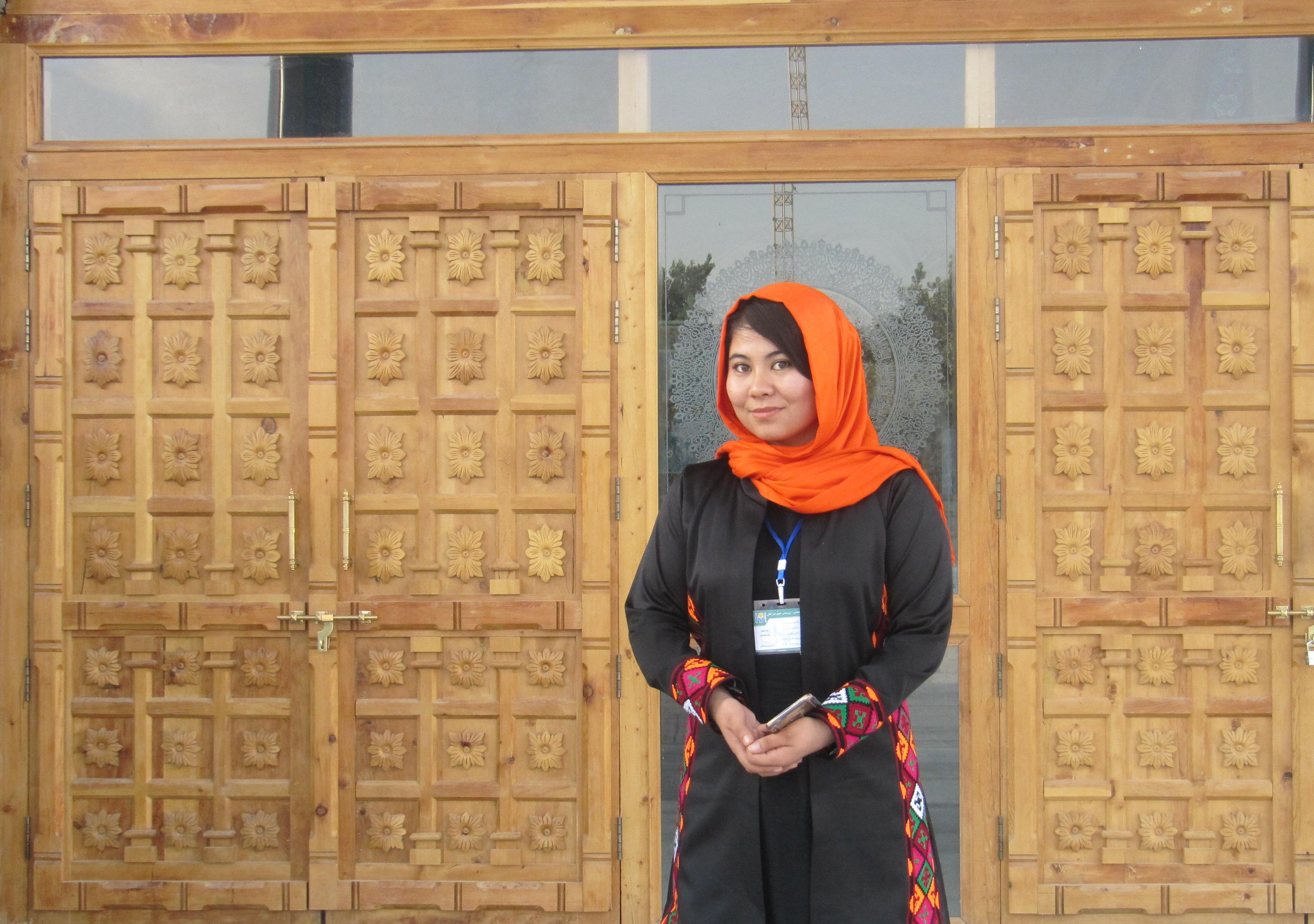 مصاحبه با زهرا رضایی فعال زنان در افغانستان