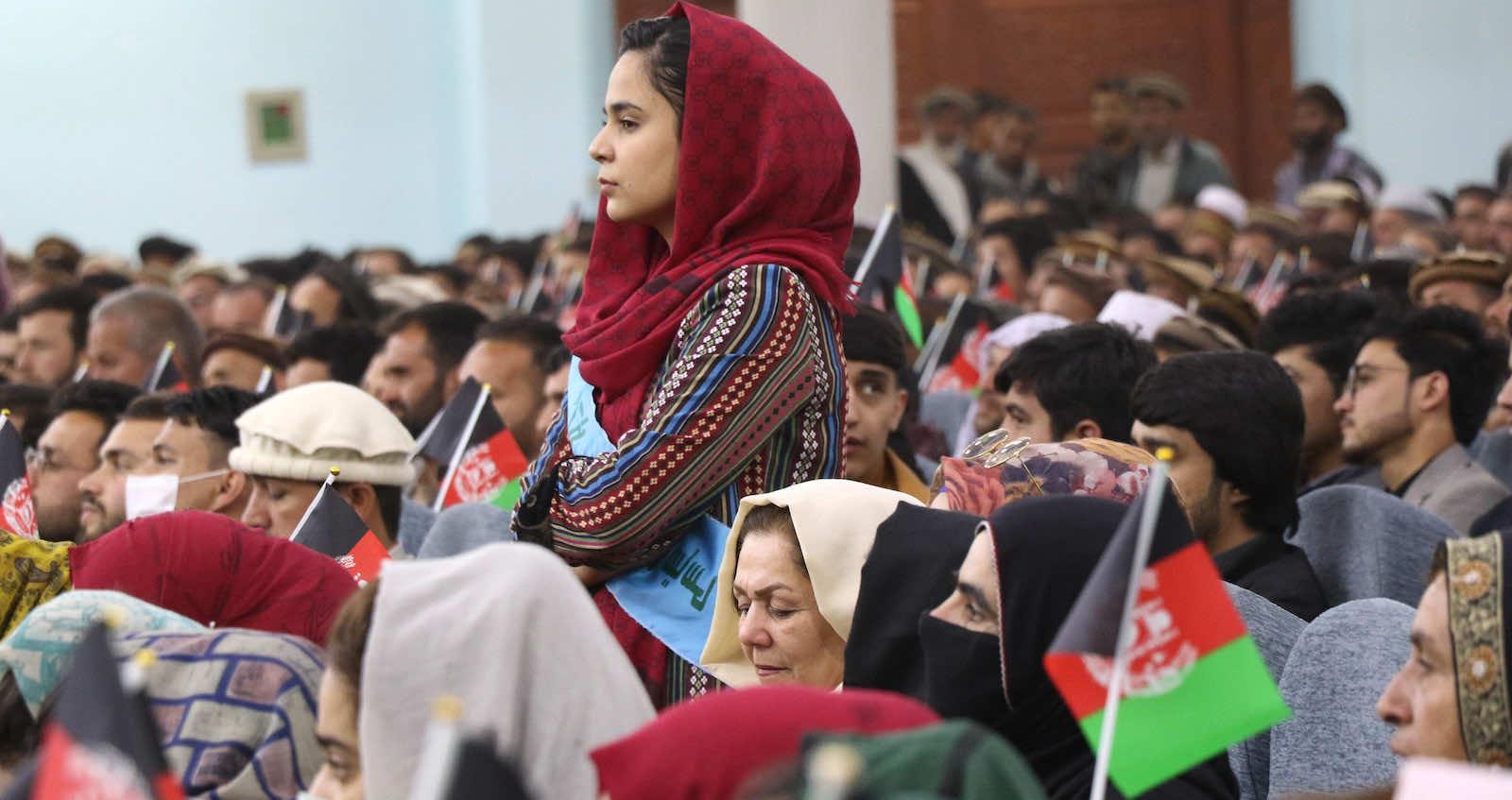 به خواسته های زنان در مذاکرات با طالبان توجه شود