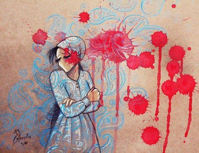 شمسیه، زنی که دنیای زنان افغانستان را به تصویر میکشد