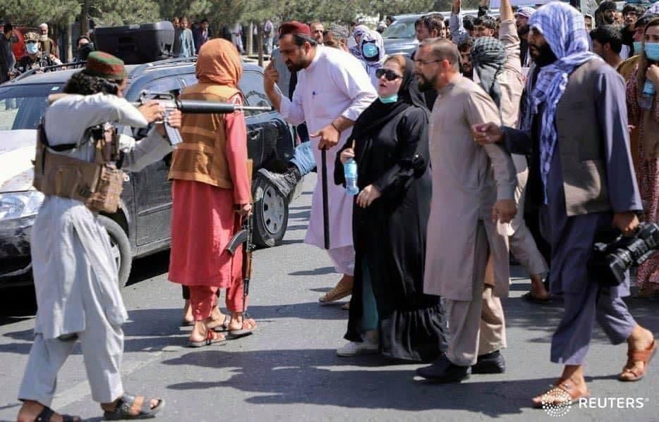 برای زنی که امروز مقابل تفنگ طالبان ایستاد